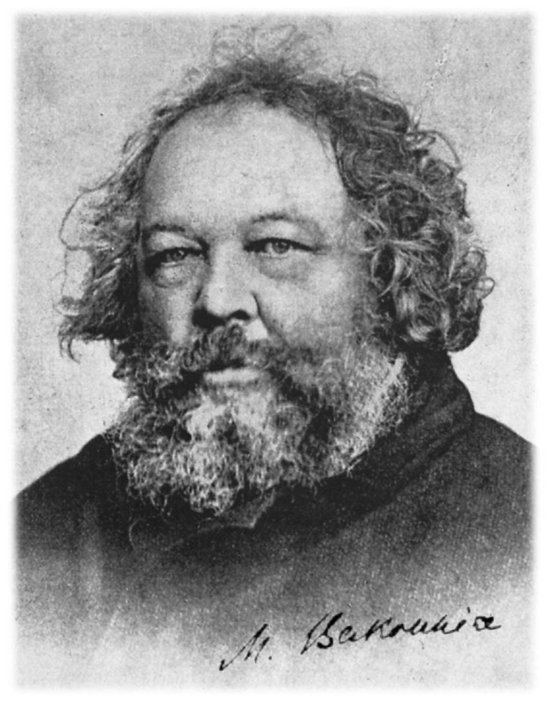 La evolución del pensamiento filosófico y político de Bakunin
