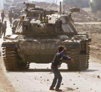 La Intifada de las piedras