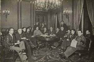 Reunión de la Junta de Defensa