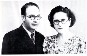 Germinal Esgleas y Federica Montseny