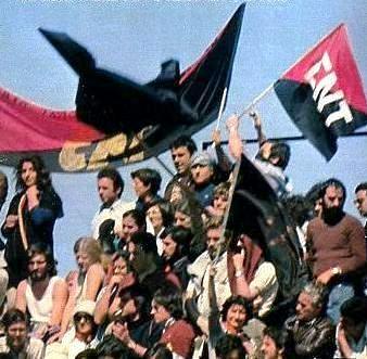 Resultado de imagen de mitin cnt San Sebastián de los Reyes 1977