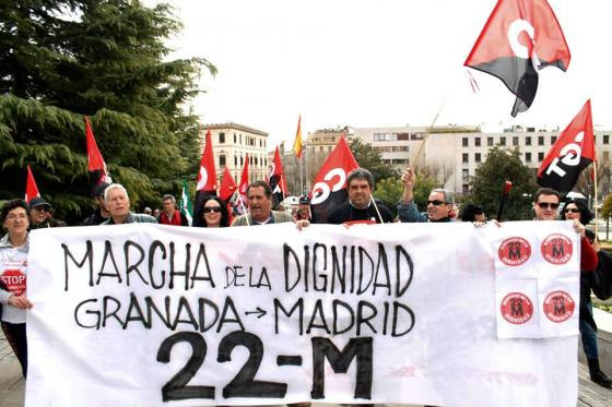 Marcha de la Dignidad Granada 3